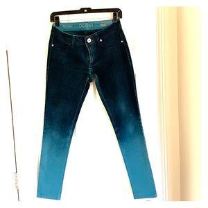 DL 1961 ombre jeans size 27